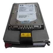HP® 404712-001 146.8GB SCSI Hot-Plug Internal Hard Drive, Black/Silver