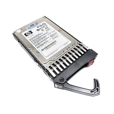 HP® 507119-003 146GB SAS 6 Gbps Hot-Plug Internal Refurbished Hard Drive, Black/Silver