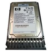 HP® DH0146FAQRE 146GB SAS 3 Gbps Hot-Plug Internal Hard Drive, Black/Silver