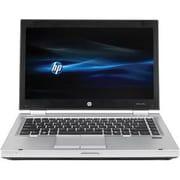 "HP® Refurbished EliteBook 8470p 14"" Notebook PC, LCD, Intel Core i5-3320M, 250GB, 4GB, Win 10 Pro, Black/Silver"