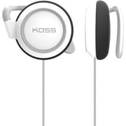 Koss® KSC21W Stereo Corded Over-the-Ear Earphone, White