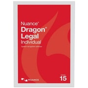 Nuance® Dragon Legal Individual v15 Business Software, 1 User, Windows, DVD (A509A-S00-15.0)