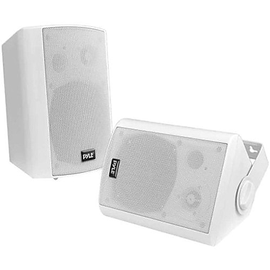 Pyle Bluetooth Indoor/Outdoor Speaker System, 60 W, 2/Pack (PDWR61BTWT)