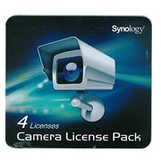 Synology® Surveillance Device Software License Pack, 4 Camera (CLP4)