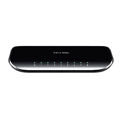 TP-LINK® TL-SG1008D-KIT 8-Port Gigabit Unmanaged Desktop Switch