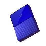 WD® My Passport WDBYFT0030BBL-WESN 3TB USB 3.0 External Hard Drive, Blue