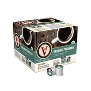 Victor Allen's Coffee 100 Percent Organic Peruvian Single Serve Cups, 42ct