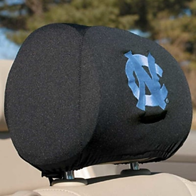 NeoPlex NCAA Car Head Rest Covers (Set of 2); Northolina Tar