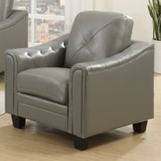 Wildon Home   Walden Arm Chair; Gray