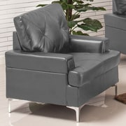 Wildon Home   Walker Arm Chair; Gray