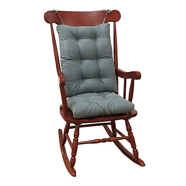 Charlton Home Rocking Chair Cushion; Marine