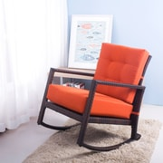 Merax Rocking Chair; Orange