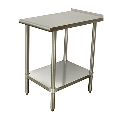 Advance Tabco Equipment Filler Prep Table; 37'' H x 30'' W x 18'' D