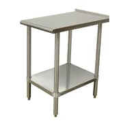 Advance Tabco Equipment Filler Prep Table; 37'' H x 24'' W x 18'' D