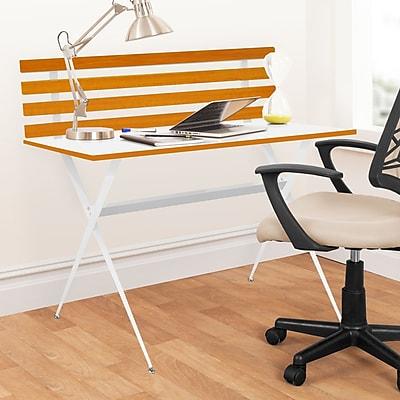 Urban Shop Wood Slab Writing Desk WYF078279625593
