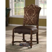 EasternLegends Burgundy Side Chair