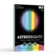 "Astrobrights® Metallic Cardstock, 8.5"" x 11"", 6lb/176 gsm, 5-Colour Assortment, 50 Sheets (98884)"