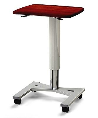 MedViron Roam, Mobile Adjustable Height Workstation - Summer Flame (H00-0000-K212)