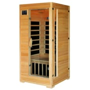 Radiant® 1-2 Person Hemlock Infrared Sauna w/ 4 Carbon Heaters - BSA2402