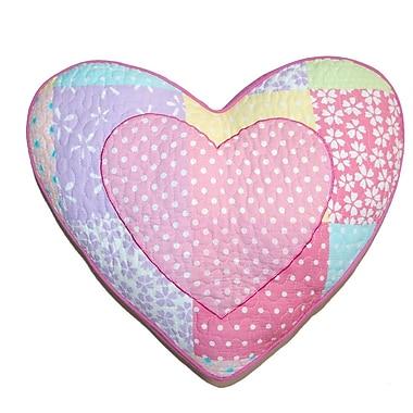 Cozy Line Home Fashion Heart Decorative Cotton Pillow