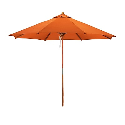 Darby Home Co 9' Market Umbrella; Tuscan WYF078279625648
