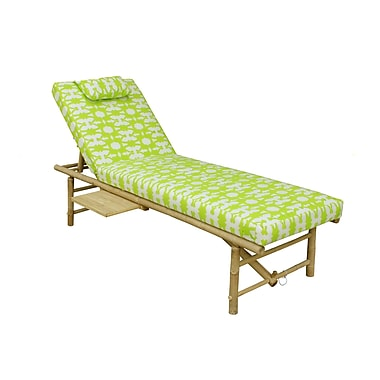 ZEW Double Chaise Lounge Patio Relax Chair