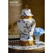 Westmen Lights Lidded Porcelain Table Vase