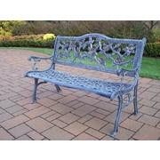 Oakland Living English Rose Park Bench; Antique Verdi