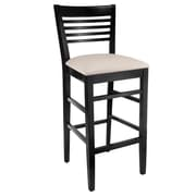 Benkel Seating Venetion 30'' Bar Stool; Black