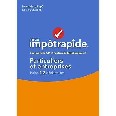 Intuit Canada – ImpôtRapide : Particuliers et entreprises 2016, français [téléchargement]