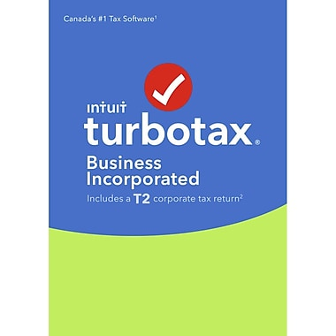 Intuit Canada – TurboTax Business Incorporated 2016, anglais [téléchargement]