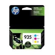 HP 935 Cyan, Magenta & Yellow Original Ink Cartridges, 3/Pack (N9H65FN)