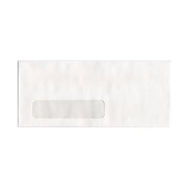 JAM PaperMD – Enveloppes à fenêtre no 10, 4 1/8 x 9 1/2 po, blanc, 500/paquet
