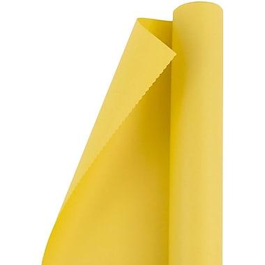 JAM PaperMD – Papier d'emballage mat, jaune mat, 25 pi2, 2/paquet