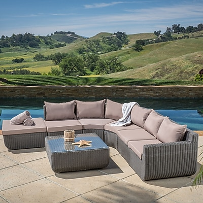 Home Loft Concepts Trabuco 6 Piece Sectional Set w/ Cushions