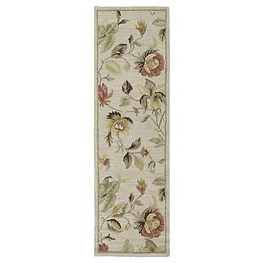Red Barrel Studio Blakeslee Linen Floral Rug; 9'6'' x 13'