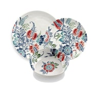TarHong Havana Floral 12 Piece Melamine Dinnerware Set