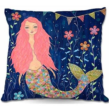 East Urban Home Mermaid Throw Pillow; 20'' H x 20'' W x 5'' D