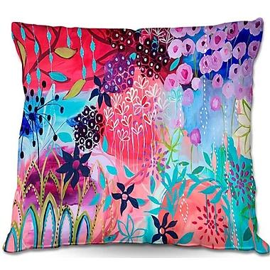 East Urban Home Garden Flowers Throw Pillow; 20'' H x 20'' W x 5'' D