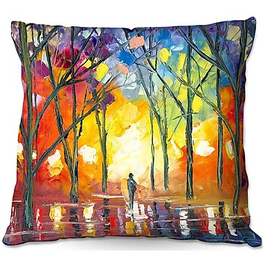 East Urban Home Reflections of the Soul Throw Pillow; 20'' H x 20'' W x 5'' D