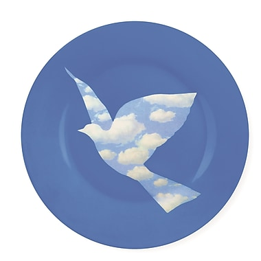 MoMA Magritte Dove Decorative Plate