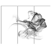 DesignArt 'Woman and Smoke Double Exposure' 3 Piece Graphic Art on Canvas Set