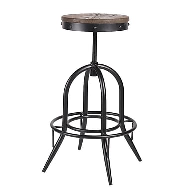 The Urban Port – Tabouret de bar Tolix, noir (C210-123054)