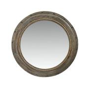 The Urban Port – Miroir avec cadre rond, argenté (C205-123123)