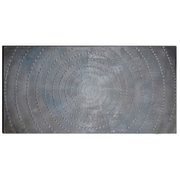 The Urban Port Infinity Hand-Painted Wooden Wall Art (C224-124112)