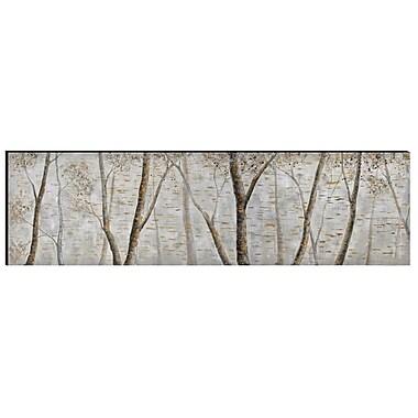 The Urban Port – Art mural en aluminium et bois peint à la main, jungle (C224-124120)