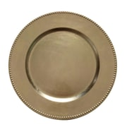 The Urban Port Charger Plate Set, Gold, 24/Pack (C216-123027)