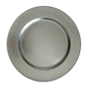 The Urban Port Charger Plate Set, Silver, 24/Pack (C216-123028)