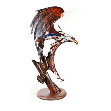 The Urban Port – Sculpture en métal, oiseau volant (C239-124144)