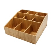 Cal-Mil 9 Section Bamboo Coffee Organizer (1714)